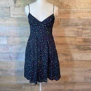 Aritzia Talula polka dot dress in size 6